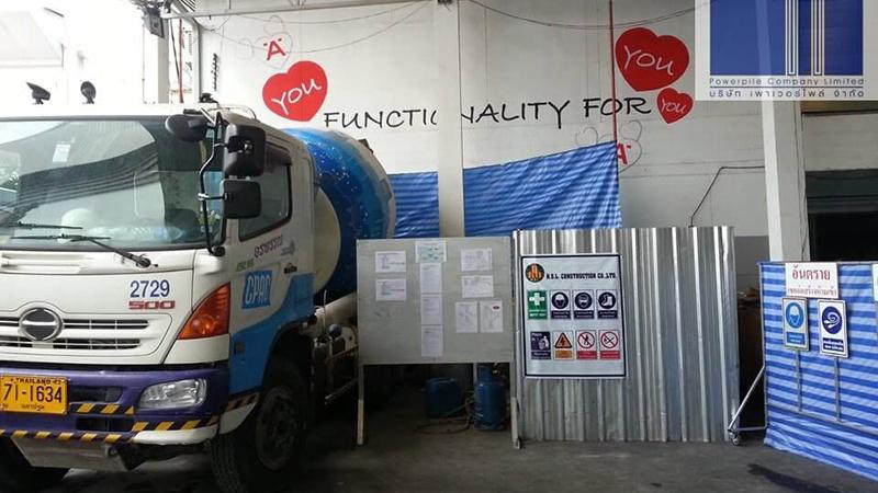 บริษัท เฮเฟเล่ (ประเทศไทย) จำกัด เสาเข็มเจาะ ขนาด 35ซม.
