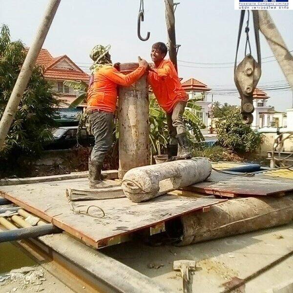 รับทำเสาเข็มเจาะ นนทบุรี