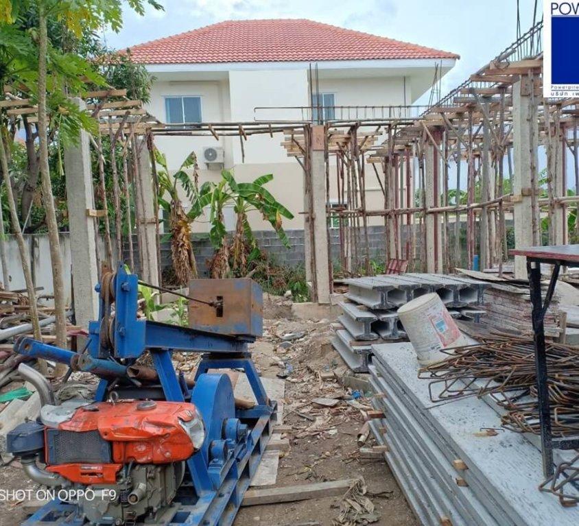 หมู่บ้านลลิล อินเดอะพาร์ค วงแหวนฯ-เทพารักษ์ จ.นนทบุรี เสาเข็มไมโครไพล์ i22 จำนวน 18ต้น